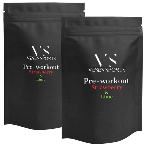 Pre-Workout Strawberry & Lime Sample