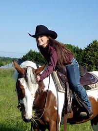 Laura Le Faucheur, ensegnante en équitation western
