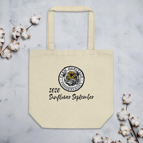 2020 Sunflower September Eco Tote Bag