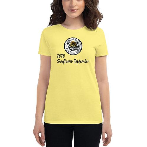2020 Sunflower September Women's short sleeve t-shirt