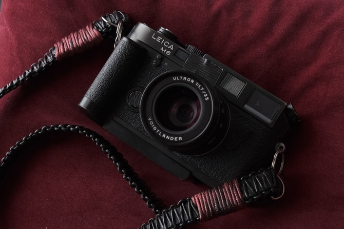 My first red dot rangefinder camera