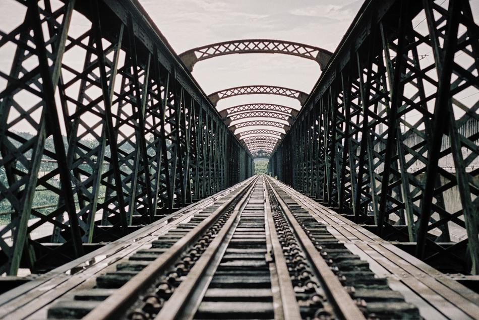 middle of the victoria bridge, kuala kangsar