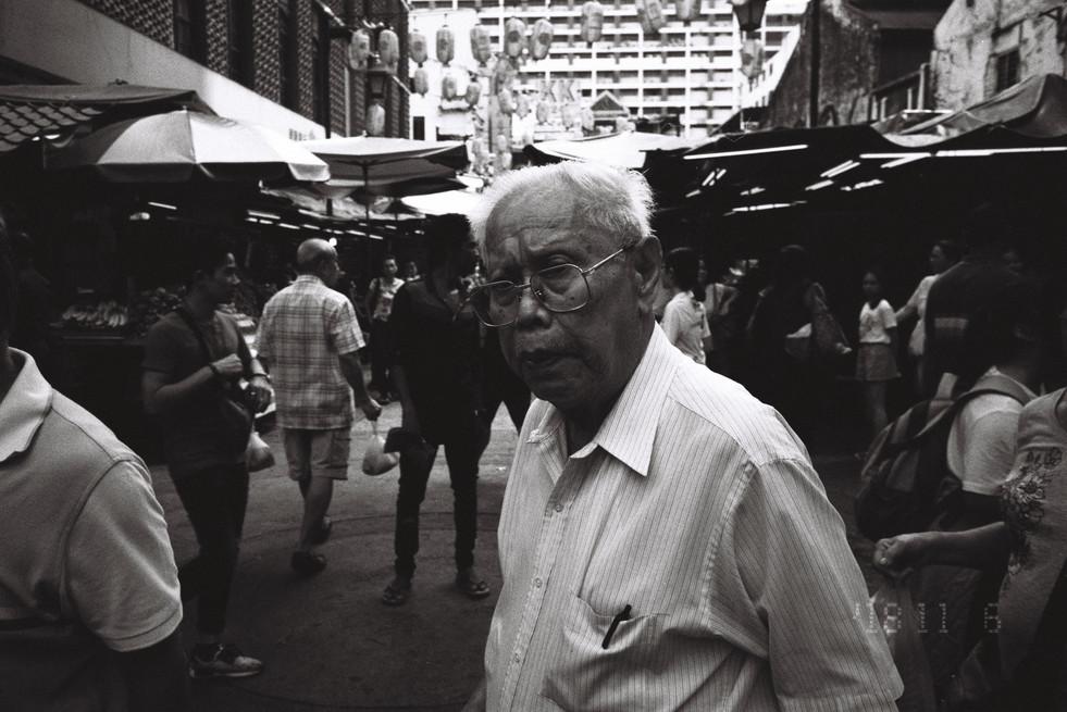 man in Petaling Street