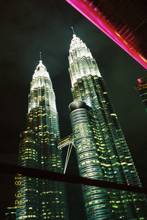 KLCC from the W KL