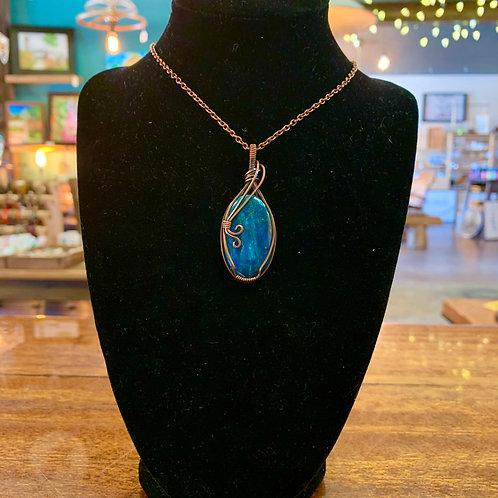 Apatite Copper Necklace