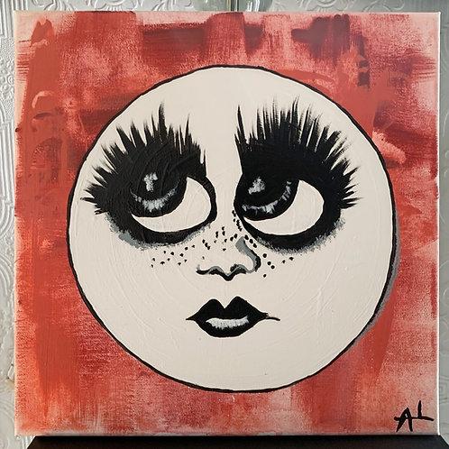Moon Face Original Art