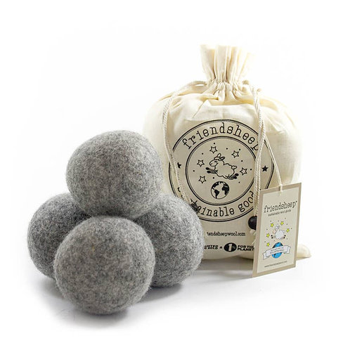 Grey Eco Friendsheep Dryer Balls