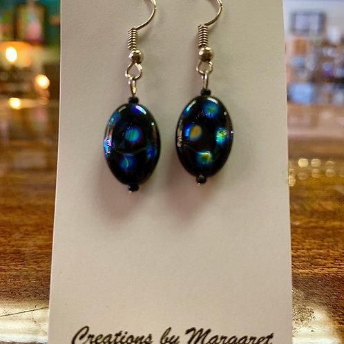 Black Holographic Earrings