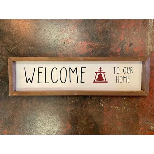 Welcome Raincross Sign