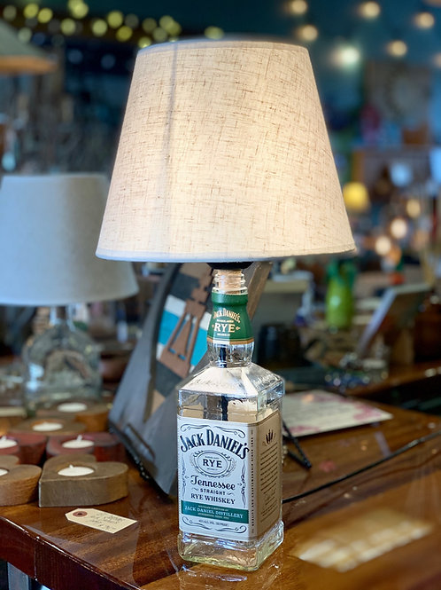Jack Daniels Rye Lamp