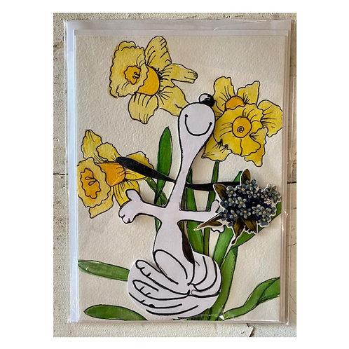 Wildflower Ink Greeting Card