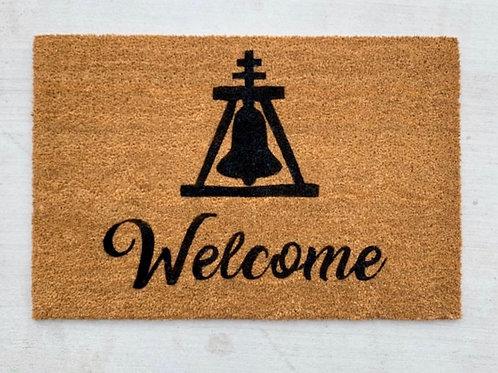 Welcome Raincross Doormat