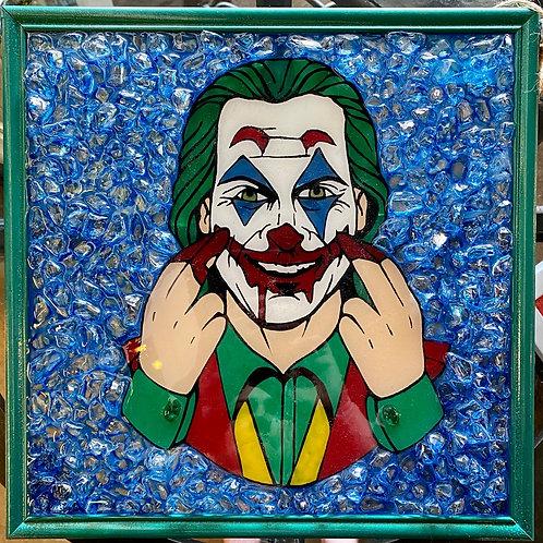 Joker Glass Art