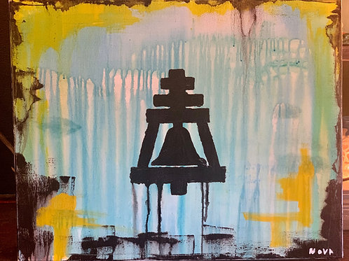 Original Raincross Canvas Painting