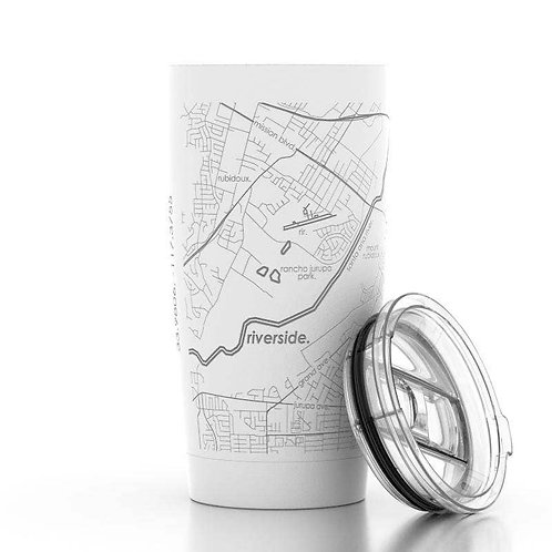 Riverside Map Pint Tumbler