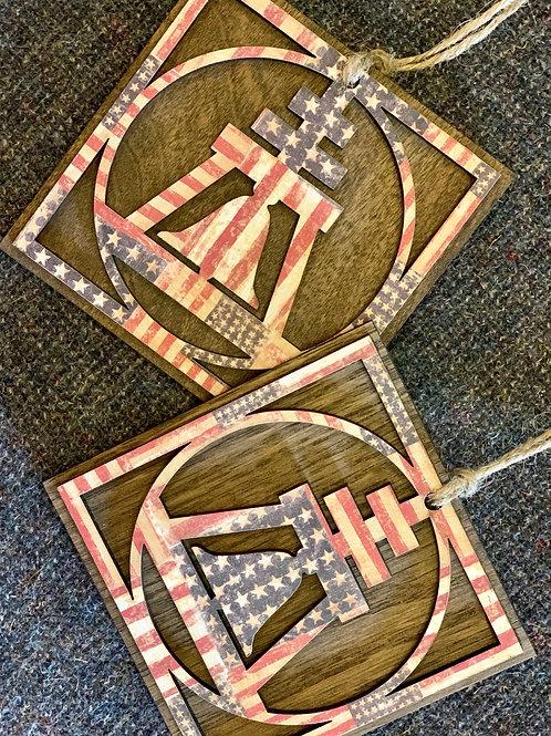 American Raincross Ornament