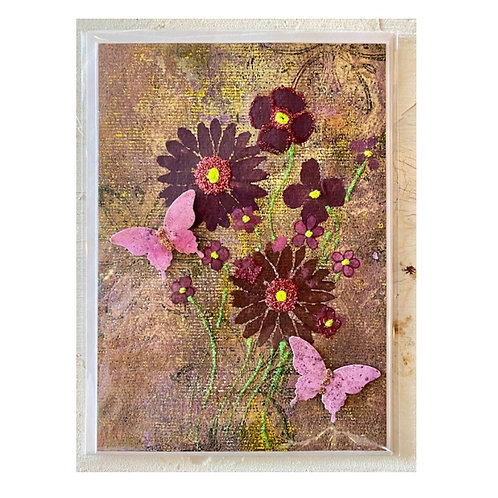 Wildflower Ink Greeting Card