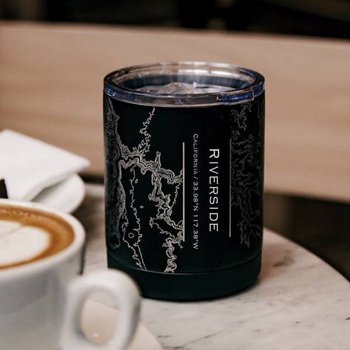 Riverside Map Insulated Cup