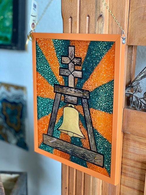 Raincross Glass Art
