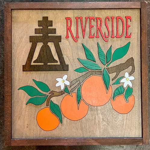 Raincross Orange Wall Art