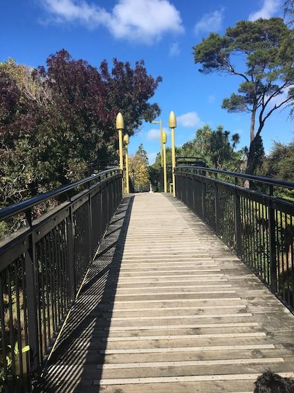 Bridge to Falls Park