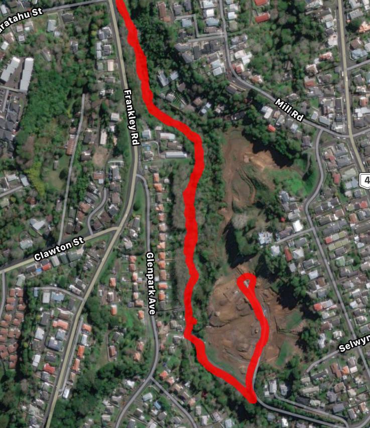 Huatoki Walkway - GPS Mapping