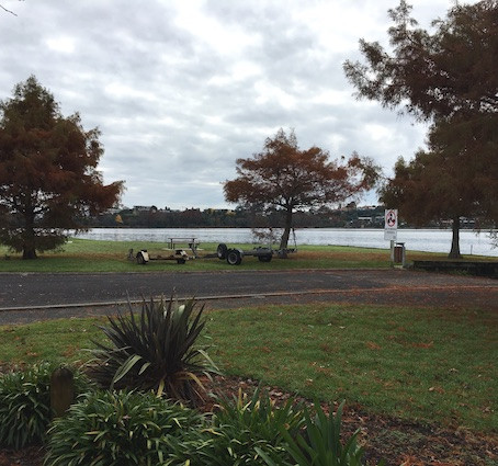 Lake Hakanoa - Huntly