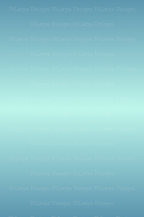 Classic Blue to Mint Ombre