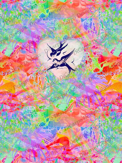 Panel - Essence Bird With Verse