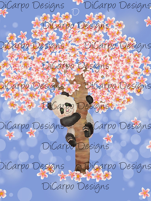 Cherry Blossom on Cornflower