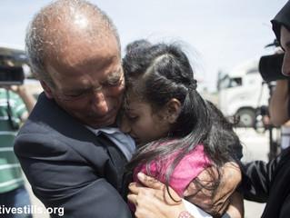 12jährige Dima Al-Wawi aus israelischer Haft entlassen