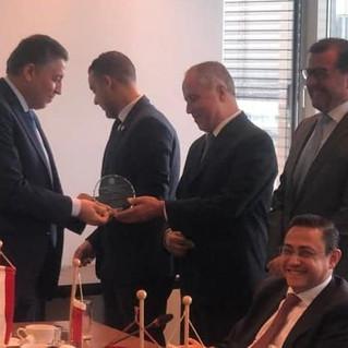 Prof. Elmadfa für seine besonderen Verdienste von der Arabischen Liga ausgezeichnet