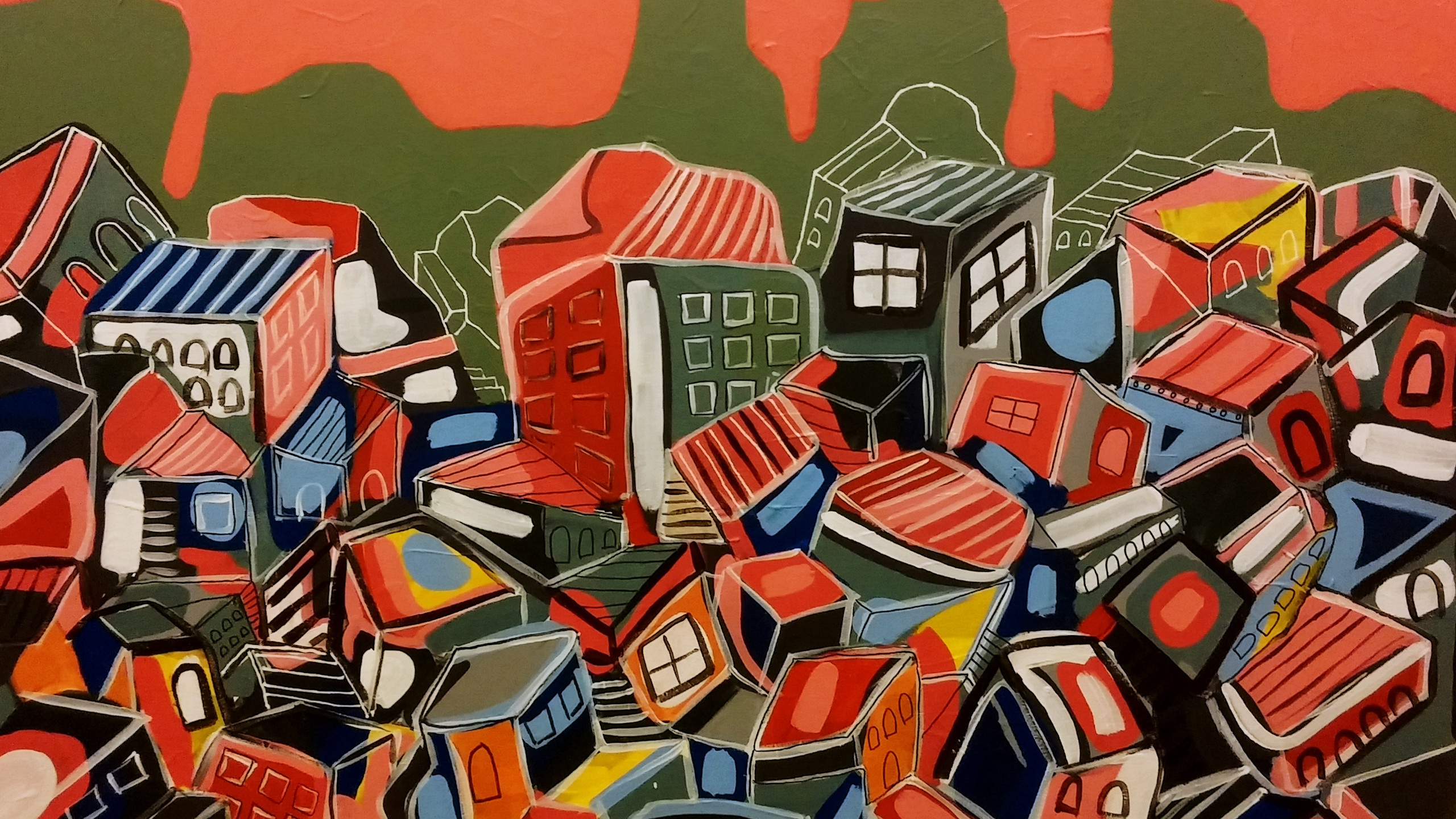 Pile of Houses