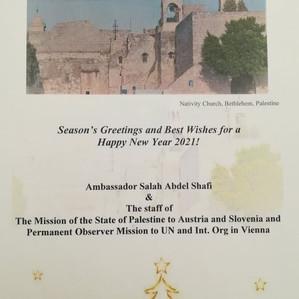 Weihnachts- und Neujahrsansprache von Botschafter Salah Abdel Shafi