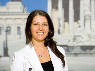 Muna Duzdar ist neue Staatssekretärin im Regierungsteam
