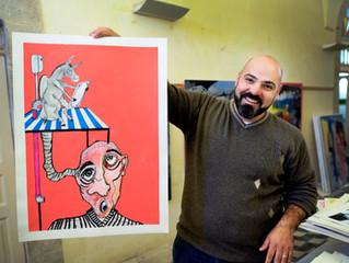 """""""Ich träume davon, mit  meiner Kunst die Menschen zu erreichen."""" Im Gespräch mit Bashir Qonqar"""