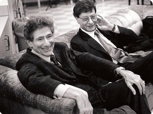 Mahmoud Darwish und Edward Said_Mahmoud