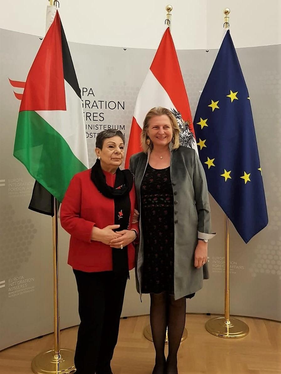 Mit BM Dr. Karin Kneissl