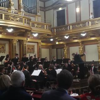 Fulminantes Konzert des Filasteen Young Musicians Orchestra im Wiener Musikverein