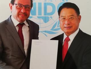 Botschafter Salah Abdel Shafi als ständiger Vertreter bei UNIDO akkreditiert