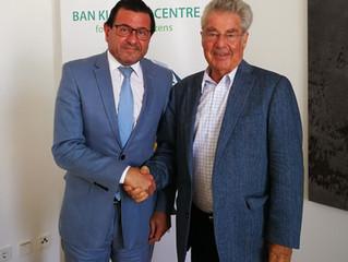 Treffen mit Bundespräsident a.D. Dr. Heinz Fischer