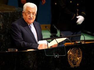 Präsident Mahmoud Abbas' Rede bei der 72. UN-Generalversammlung in New York
