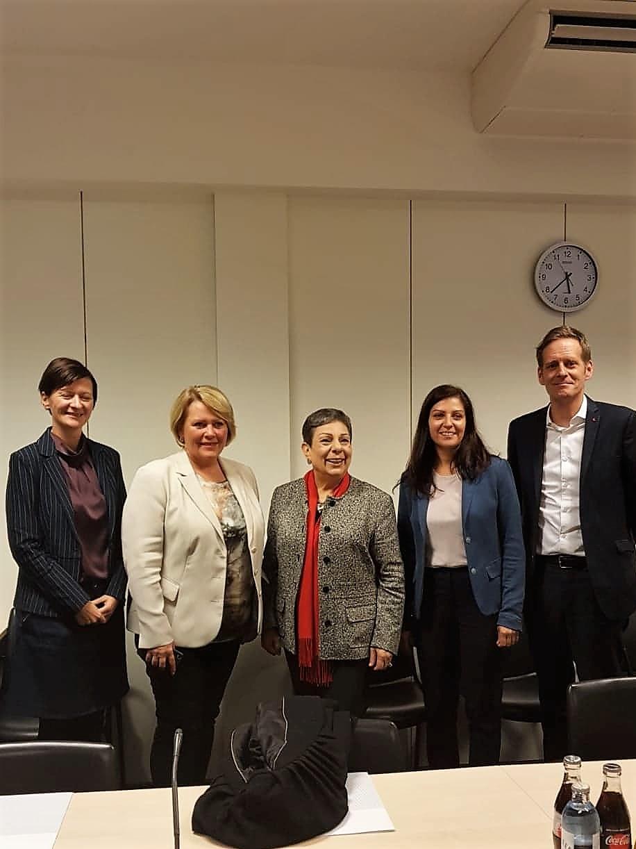 Mit österreichischen Abgeordneten