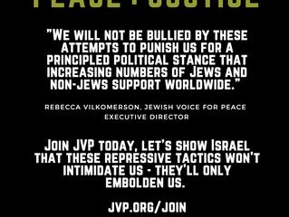 Israel veröffentlicht Liste von Organisationen, deren Mitglieder Einreise verweigert wird