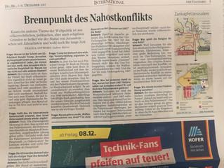 """Entgegnung von Botschafter Salah Abdel Shafi zum Artikel """"Brennpunkt des Nahostkonflikts"""" von Gudrun"""