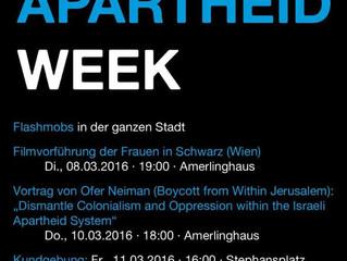 Israeli Apartheid Week 2016 - Wien