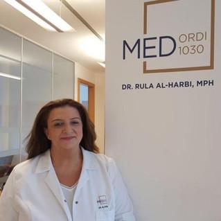 Im Gespräch mit Rula Al-Harbi, Vorsitzende der Palästinensischen Ärzte- und Apothekervereinigung