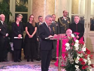 Neujahrsempfang für das Diplomatische Corps in der Wiener Hofburg