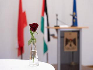 Empfang der Vertretung des Staates Palästinas am 3. Dezember 2018