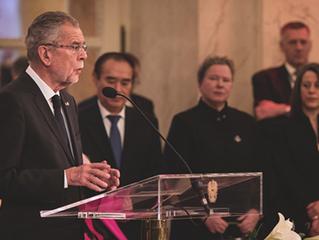 Neujahrsempfang für das Diplomatische Corps in der Hofburg